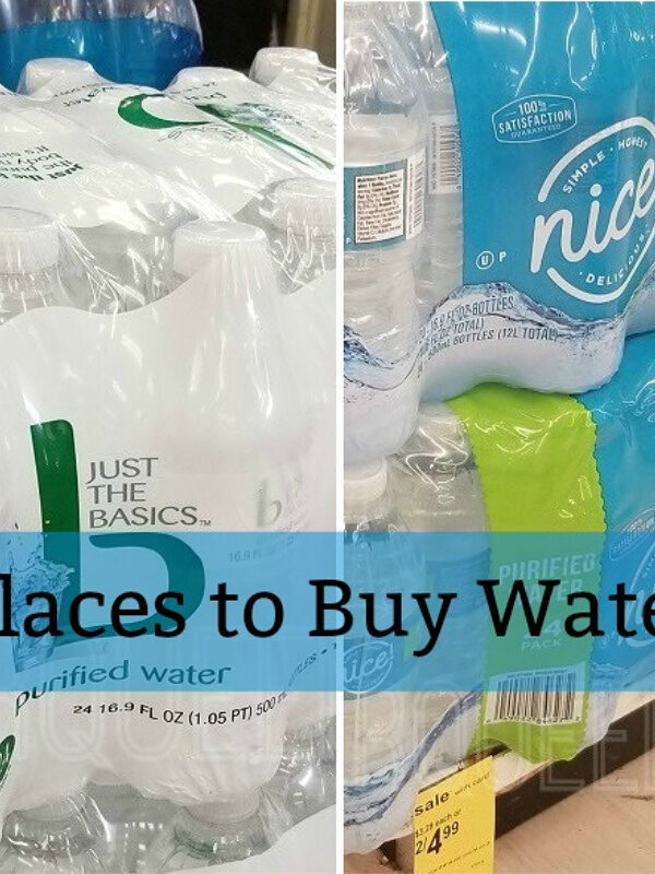 Four Best Places to Buy Water