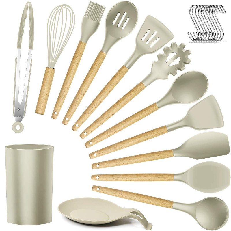 Silicone Kitchen Utensils 13 Pieces Just 14 55 48 Off