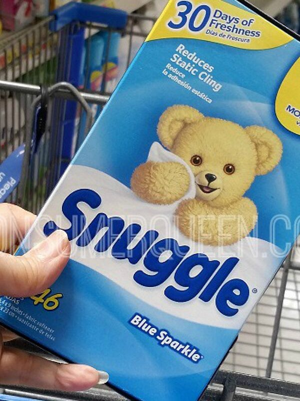snuggle dryer sheets at walmart