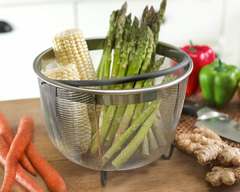steamer baskets for pressure cookers on amazon