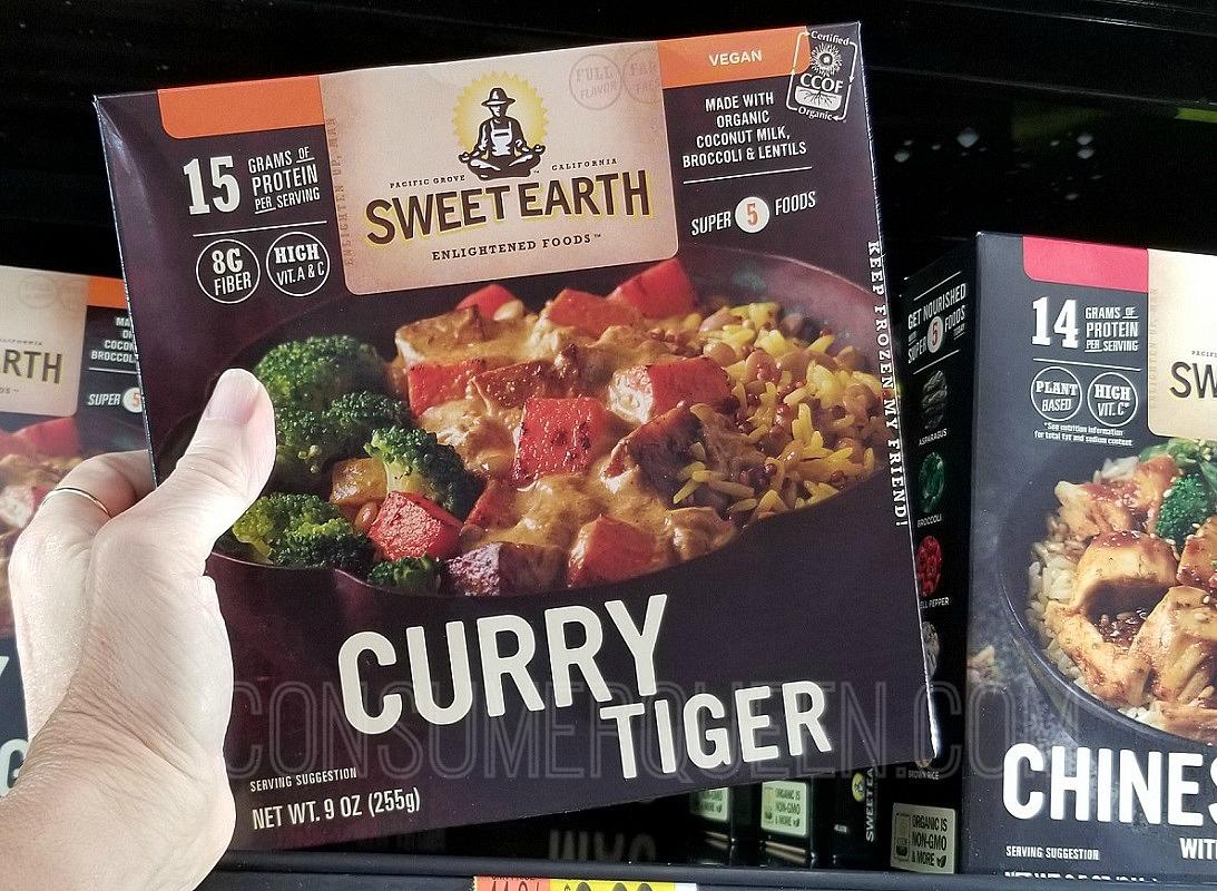 Sweet Earth Vegetable Bowl FREE at Walmart After Cash Back
