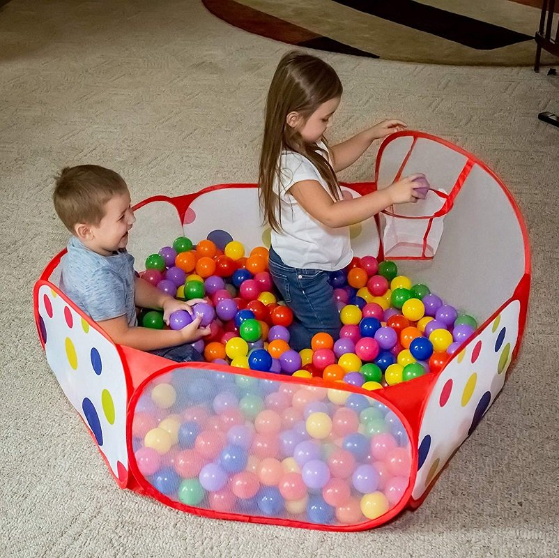Toddler Ball Pit w/Basketball Hoop Just $12.99 (Reg $24.99) on Amazon & Walmart!
