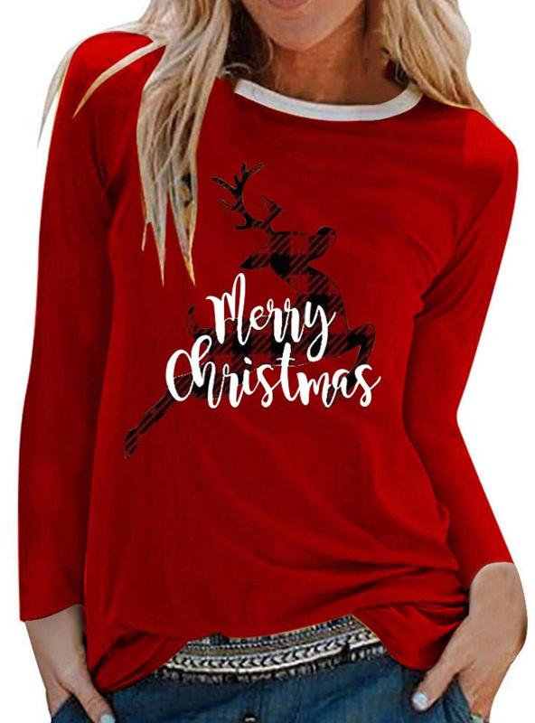 women's christmas shirt