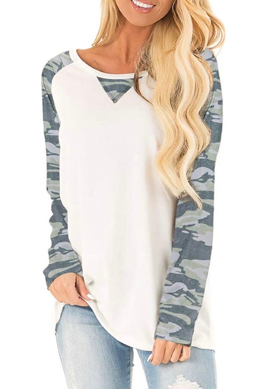 Women's Trendy Tops, Long Sleeve Patterned Tees – just $6.99 on Amazon!