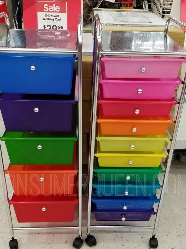 10 drawer rolling carts at michaels