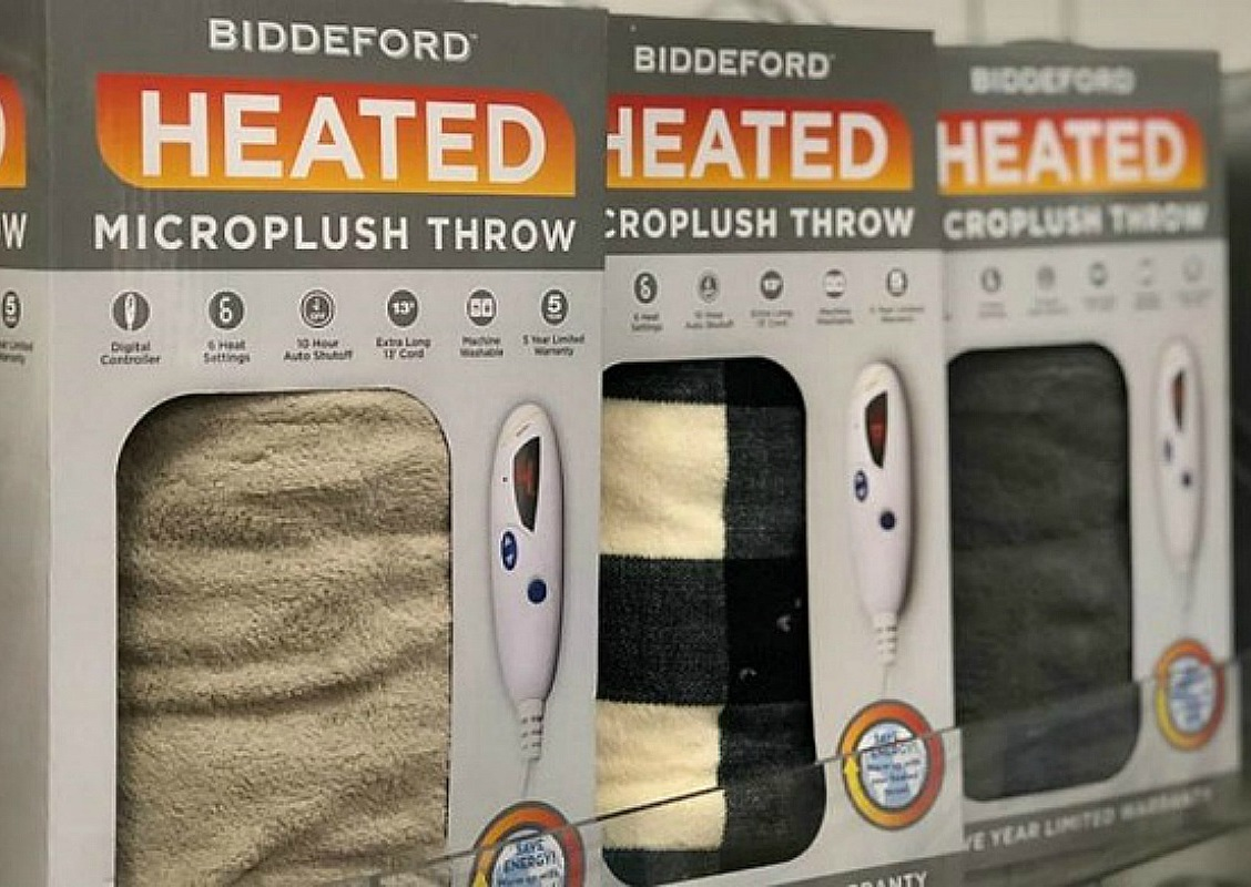 Electric Heated Throws Only $19.99 at Kohl's (Reg. $80!)*EXPIRED*