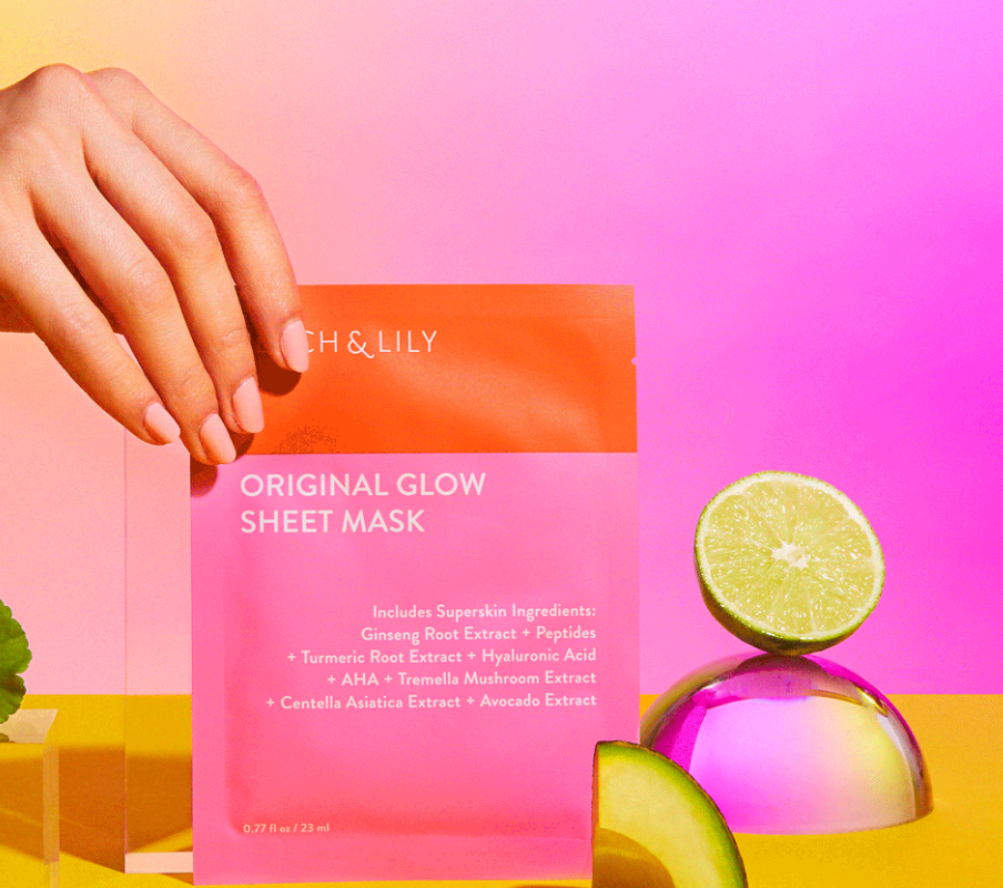 FREE Original Glow Sheet Mask by Peach & Lily (Instagram Offer)