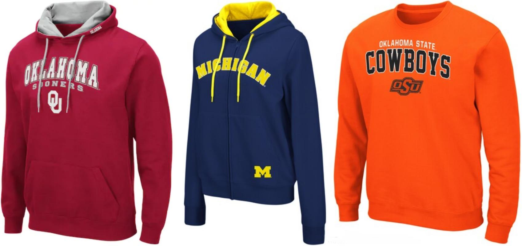 NCAA Hoodies & Shirts ONLY $19.99 at Kohl's (Reg. $40!)