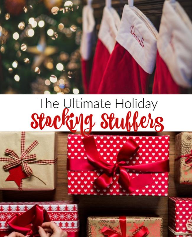 Awesome Holiday Stocking Stuffer Ideas 2020