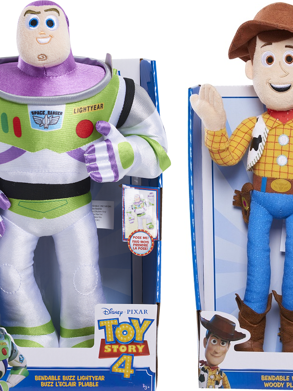 toy story 4 buzz lightyear and woody at walmart