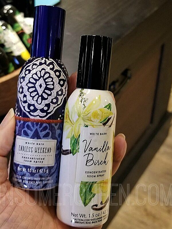 concentrated room sprays at bath & body works