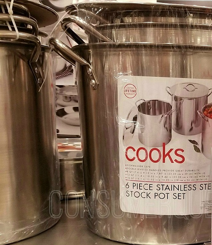 Cooks 6 Piece Stockpot Set ONLY $26.24 at JCPenney (Reg. $60!) *EXPIRED*