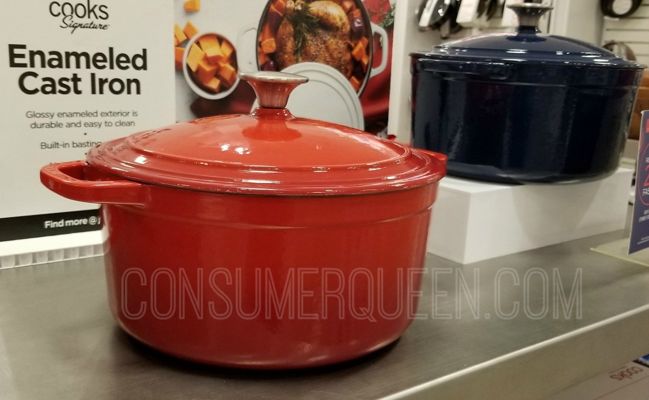 Cooks Cast Iron Dutch Oven ONLY $55.99 at JCPenney (Reg $100) *EXPIRED*
