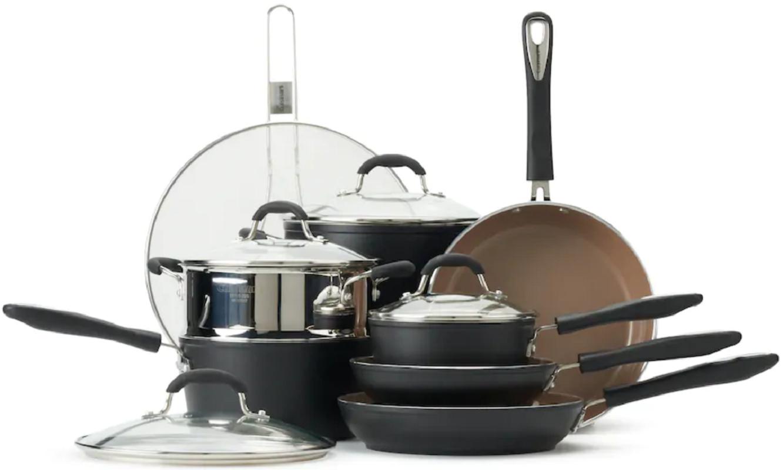 Cuisinart 12 Piece Cookware Set $119 (Reg. $250) at Kohl's!