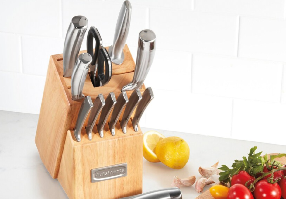 cuisinart professional series cutlery set at kohls