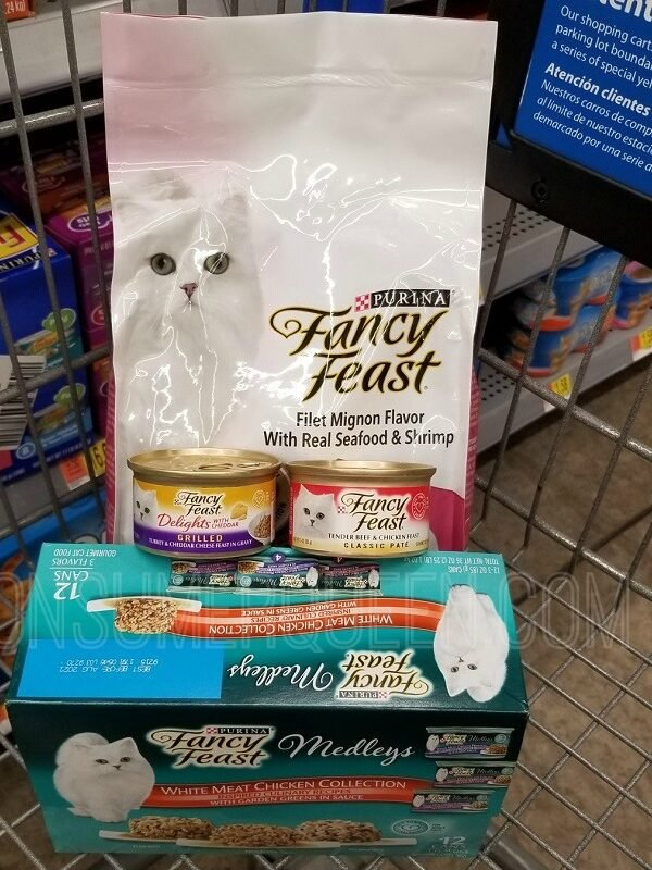 fancy feast at walmart