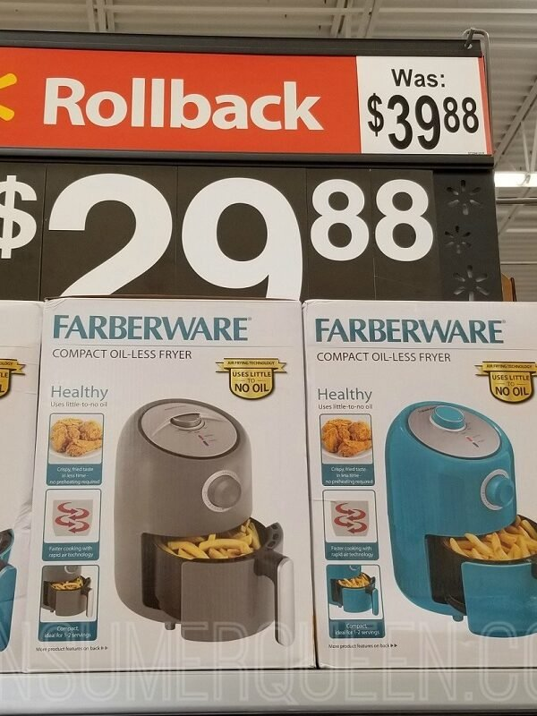 Farberware Air Fryer Only $29.88 at Walmart (Regularly $39.88)