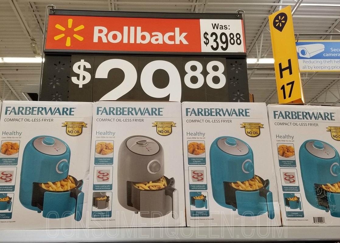 Farberware Air Fryer Only 29 88 At Walmart Regularly 39 88