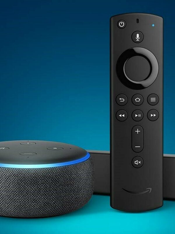 fire tv stick 4k with echo dot at amazon