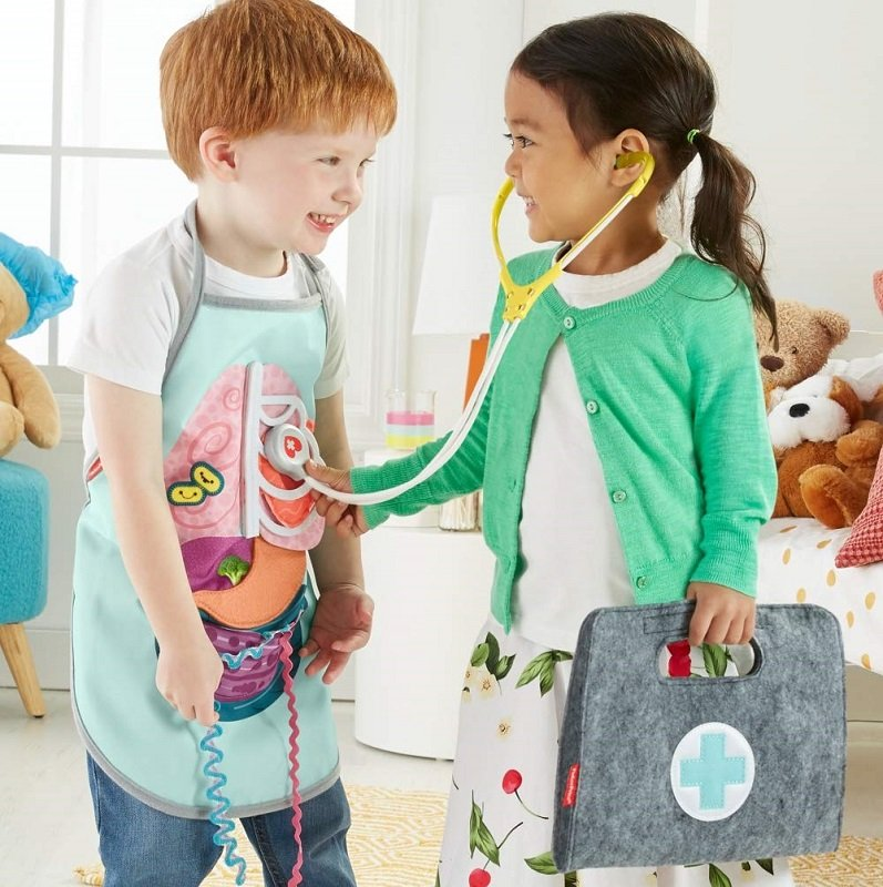 fisher-price patient & doctor kit on Amazon and Walmart