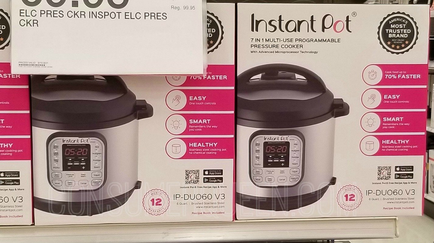 instant pot duo nova at target