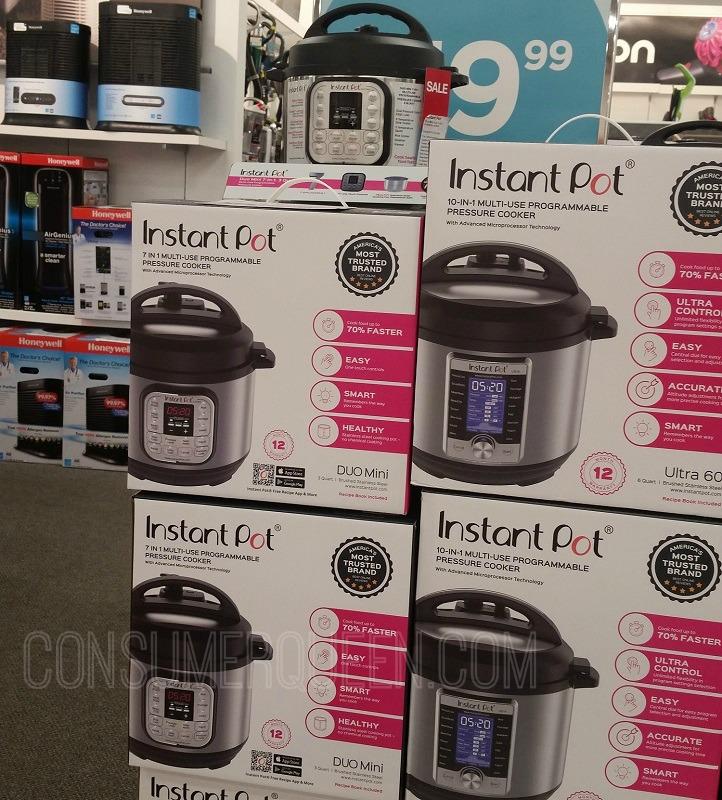 3 Quart Instant Pot ONLY $48.30 + Free Shipping at Kohl's (Reg. $80)