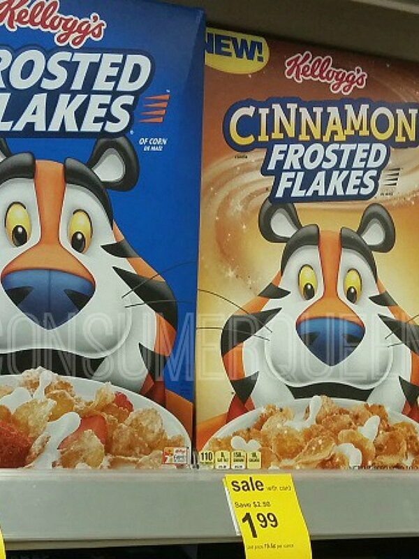 Kellogg's Frosted Flakes as Low as 79¢ at Walgreens After Cash Back!