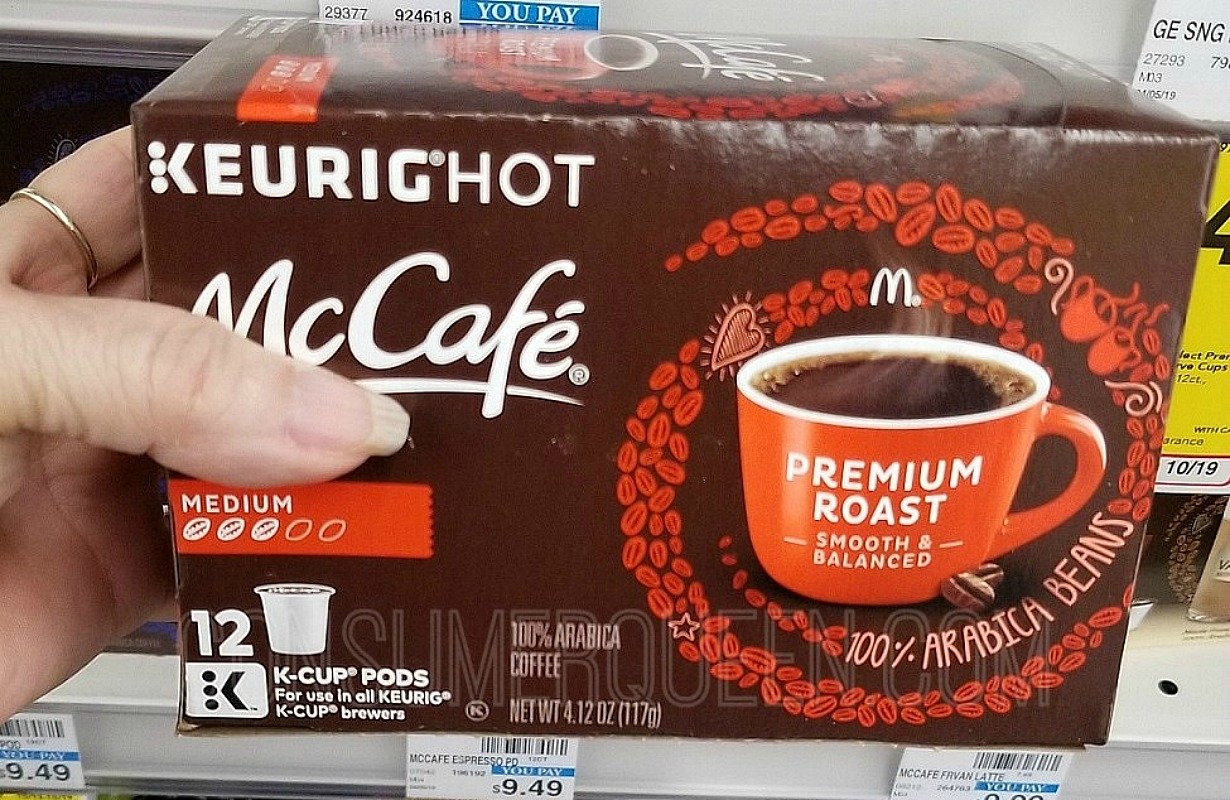 McCafe k cups at cvs