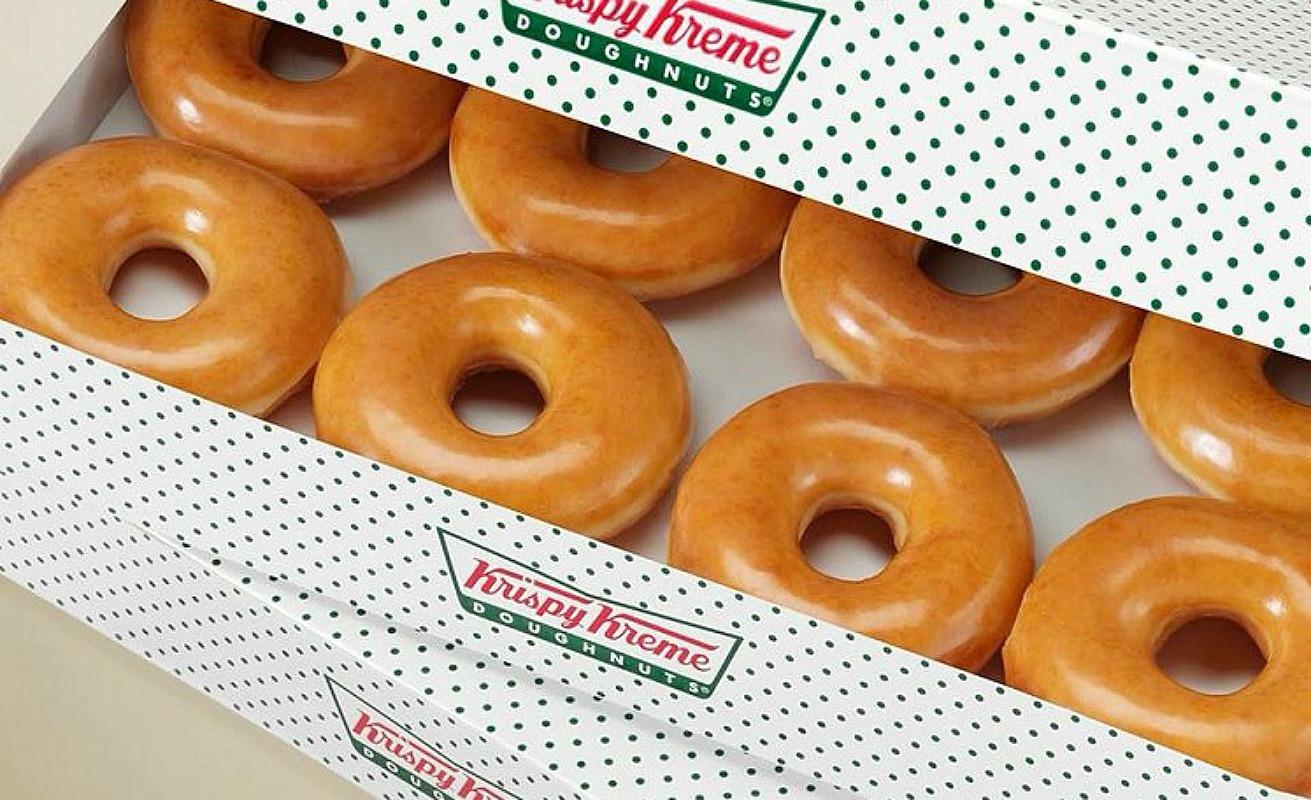 free  dozen krispy kreme dozen doughnuts