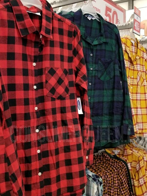 old navy flannel shirts