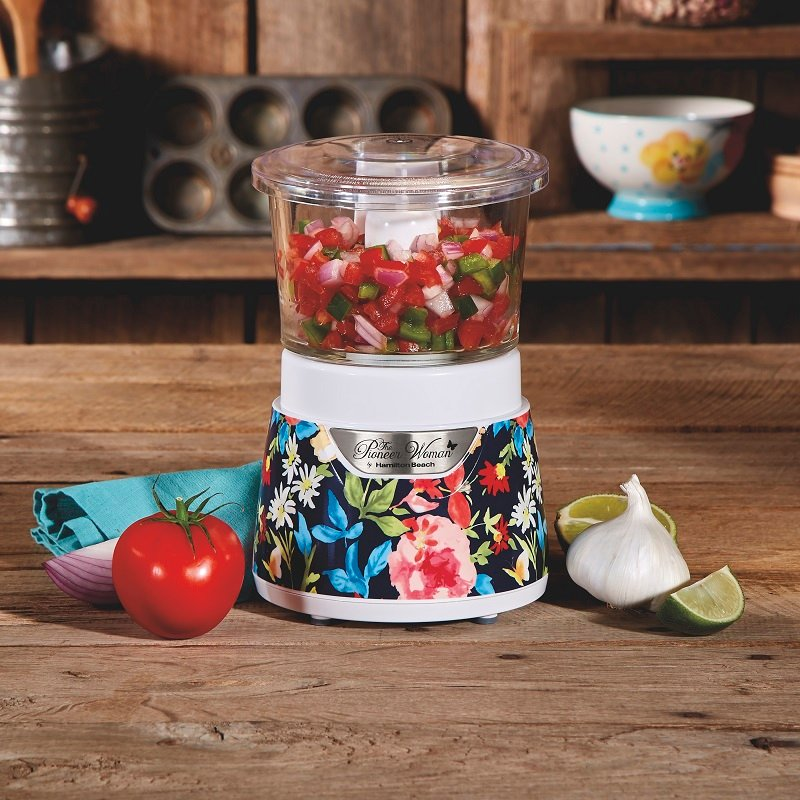 The Pioneer Woman Glass Bowl Food Chopper ONLY $19.99 (Reg $40)