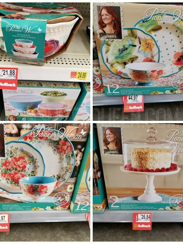 Pioneer Woman Rollback Prices at Walmart!