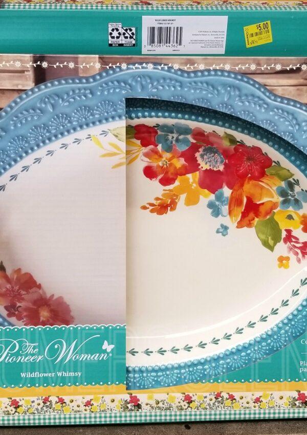 pioneer woman turkey platter at walmart