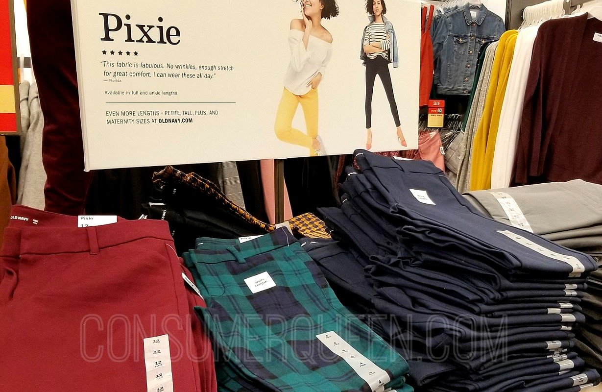 Old Navy Pixie Pants ONLY $14.97 (Regularly up to $40) + More