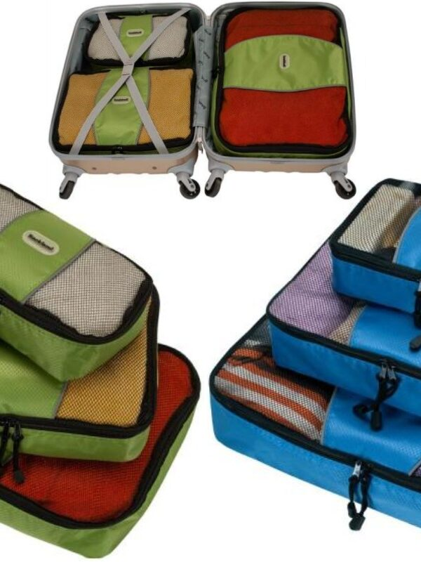 rockland 3 piece packing cubes at home depot