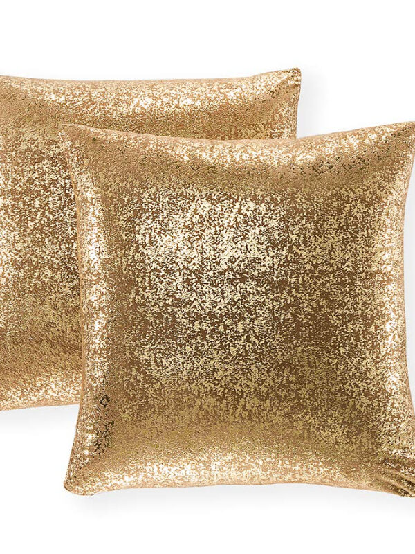 sparkly pillow covers