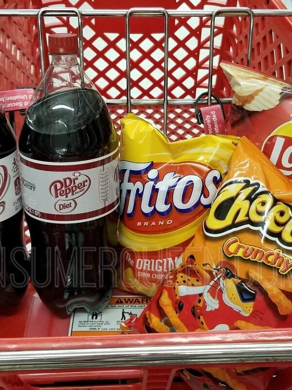 soda & chips at big lots