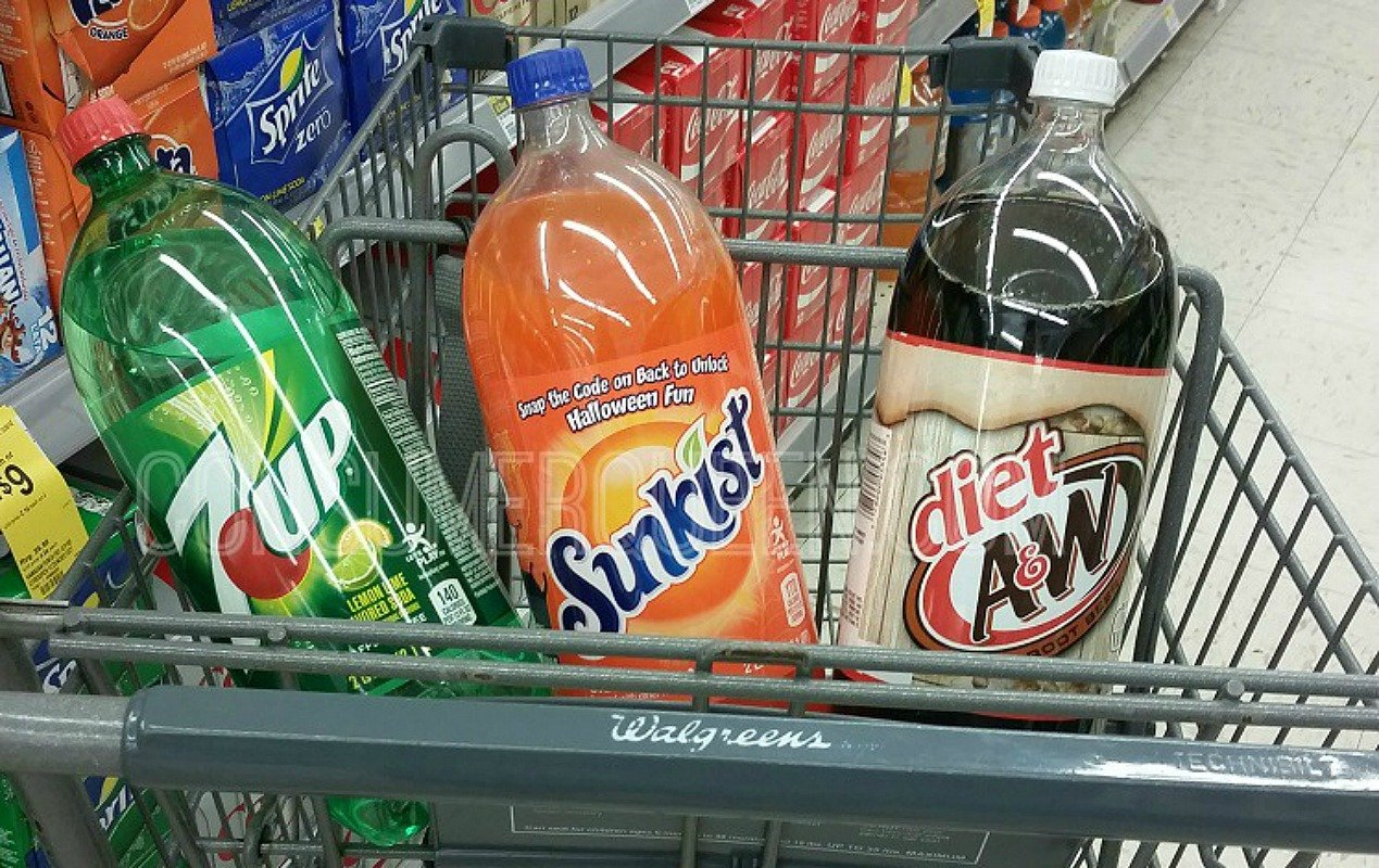2 Liter 7Up, A&W and Sunkist Soda ONLY 74¢ at Walgreens!