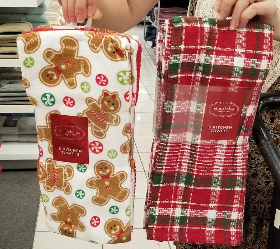 st nicholas square holiday towels at kohls