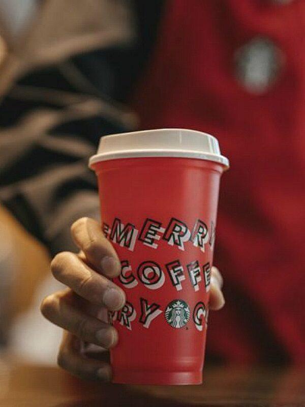starbucks reusable holiday cup