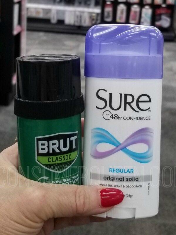 sure deodorant at cvs