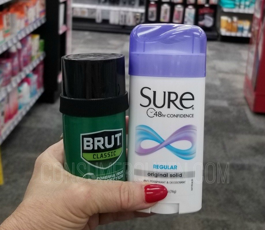 sure deodorant at cvs