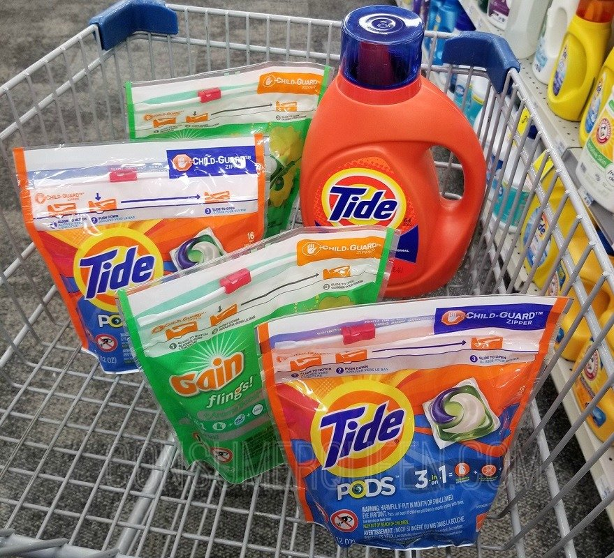 Laundry Products $31.70 For ONLY $10.70 at CVS After Cash Card!