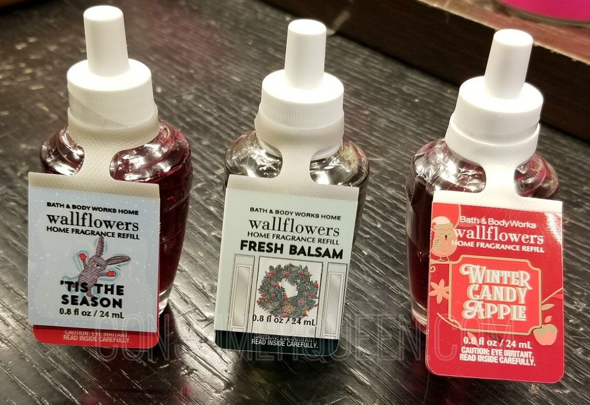 wallflower refills at bath & body works