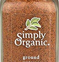 Simply Organic, Nutmeg Ground Organic, 2.3 Ounce