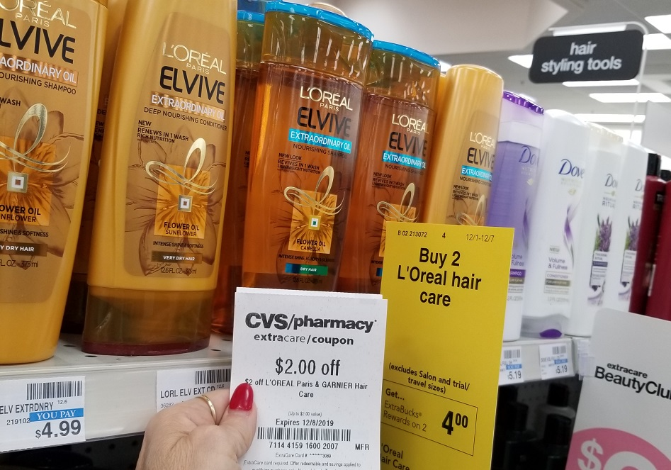 elvive hair care at cvs