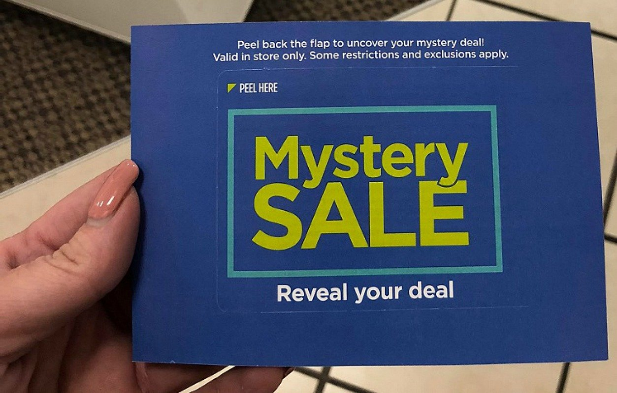 JCPenney Mystery Coupon