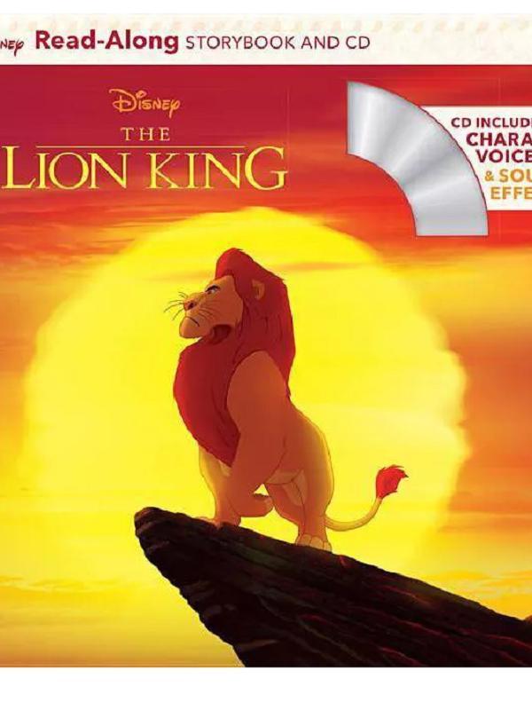 Lion King Read-Along Storybook $3.99 at Target! Think Stocking Stuffer!