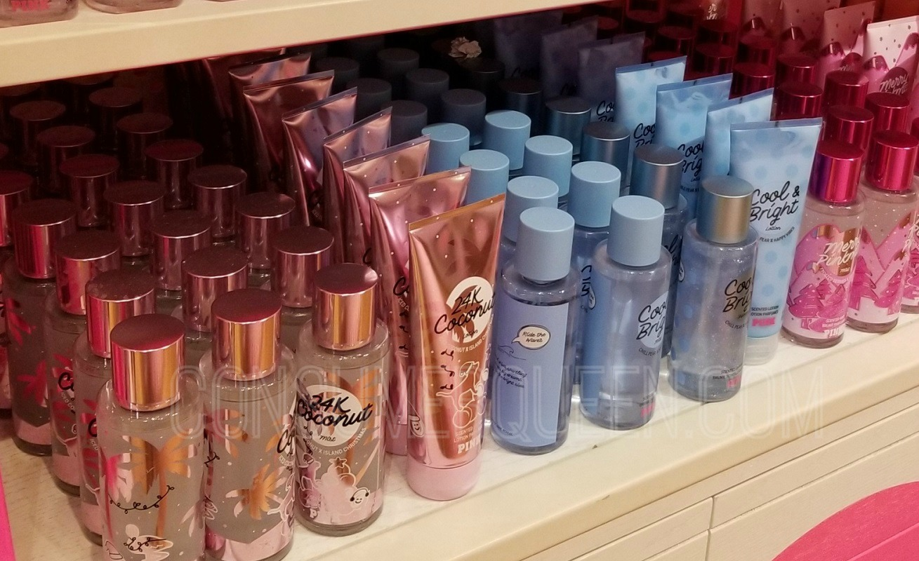 pink body care - fragrance lotions & mists