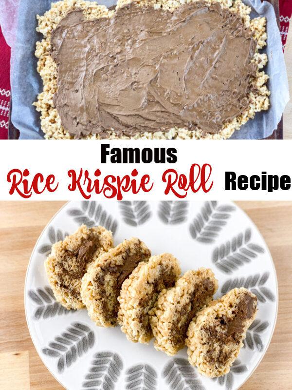 Rice Krispie Roll Pinterest